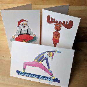 Cartes de Noël - Trio
