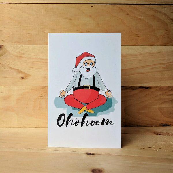 Carte de Noël Ohohoom
