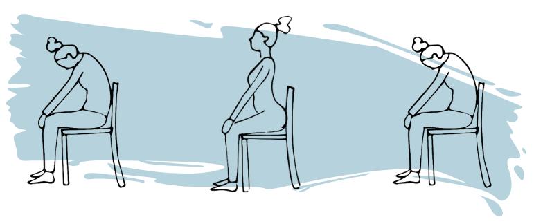 réchauffement sur chaise