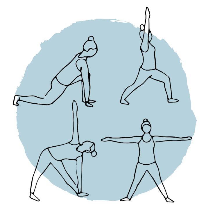 postures debout