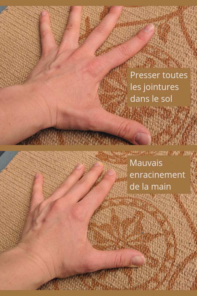 placement des mains