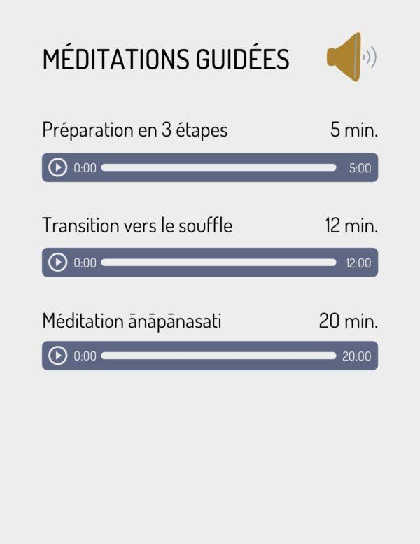 Méditation guidées