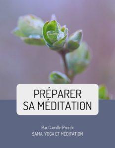 Préparer sa méditation